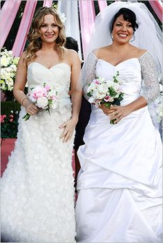 Greys Anatomy Whose Wedding Dress Was Better Poll