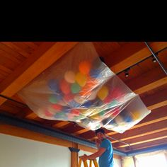 Party New Year Ideas Balloon Drop 22 Ideas New Years Eve Birthday Party, Adult Birthday Party, Nye Party, Party Time, 10th Birthday, New Years With Kids, Kids New Years Eve, New Years Eve Party Ideas For Adults, New Year's Eve Activities