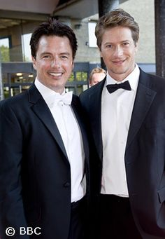 John Barrowman & Scott Gill - See more:http://crazycatt71.tumblr.com/tagged/John+Barrowman+%26amp%3B+Scott+Gill/page/2