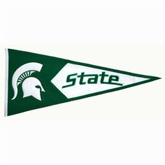 Michigan State Spartans NCAA Classic Pennant (17.5x40.5)