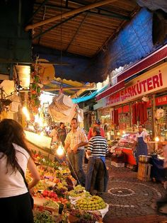 Kadikoy Market -- My favorite market in Istanbul, you can skip Grand Bazaar, Spice bazzar and all that jazz, don't miss this