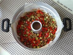 Verdure miste nel fornetto Versilia Cucina vista mare