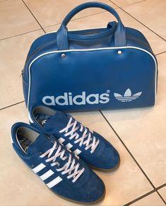 French made vintage bag and adidas Koln 62bdcaf93