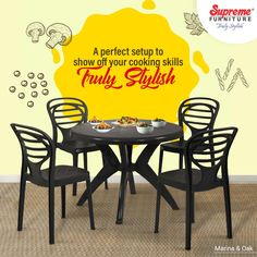 Make every meal with your loved ones special with our premium sets. Learn more on our website & app. . . . #TrulyStylish #BeautifulSpaces #Durable #Sturdy #Colourful #HomeDecor #LowMaintenance #EasyToClean #Stackable #Decor #IndoorFurniture #OutdoorFurniture #HomeInteriors #VocalForLocal #MadeInIndia