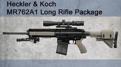 Heckler & Koch MR762A1 Long Rifle Package