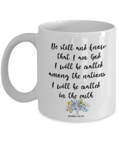 Available now! http://formugs.com/products/bible-verse-gift-psalm-46-10-be-still-best-scripture-verse-gifts-for-family-and-friends?utm_campaign=social_autopilot&utm_source=pin&utm_medium=pin