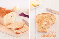 Pan de molde casero (sin panificadora) - Drink me · Eat me