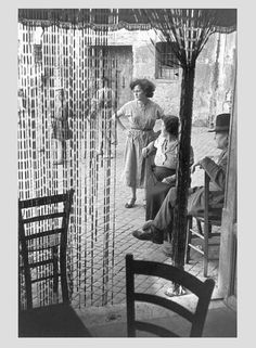 Henry Cartier Bresson in Italy - Rome, 1952