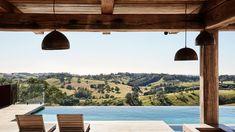 The Design Files – A Spectacular Spanish-Influenced Homestead In The Byron Hinterland. Australian Architecture, Australian Homes, Contemporary Architecture, Most Beautiful Gardens, Beautiful Homes, Apartment Backyard, Lounge Design, Cafe Design, Interior Design