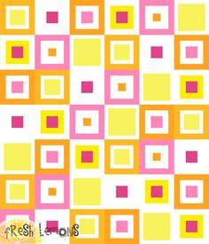 Lemon Squares Quilt Pattern – Fresh Lemons Modern Quilts
