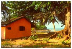 Bungalow at Ezile bay #Africa #Ghana #Akwidaa #Busua http://www.ezilebay.com/ http://busuainn.com/ http://olivbusua.blogspot.com/