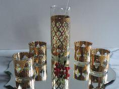 Vintage Mid Century Culver Glassware Hollywood by used2bnewVintage