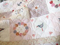 Helen Philipps Helen Phillips, Coastal Quilts, Comforters, Blanket, Bed, Home, Creature Comforts, Quilts, Stream Bed