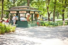 Reason #53: Delectable desserts at Ferraras in Central Park. #newyork