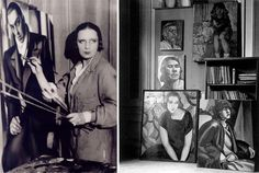 Tamara De Lempicka. Cultura Inquieta, estudios de artistas, donde nace el arte  http://culturainquieta.com/es/arte/pintura/item/7801-45-estudios-de-famosos-artistas-los-lugares-en-los-que-nace-el-arte.html