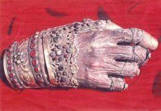 Saint John Chrysostom's incorruptible hand
