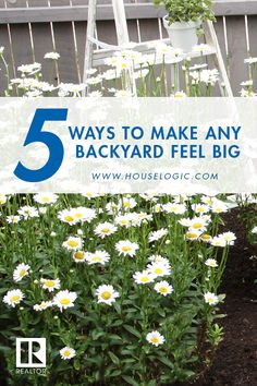 City-sized backyard? No problem. We've got 5 ways to turn your cramped space into an outdoor oasis.