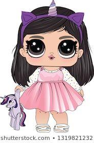 Chibi Kawaii, Kawaii Anime, Kawaii Drawings, Cute Drawings, Wood Craft Patterns, Cute Girl Drawing, Paper Dolls Printable, Doll Party, Lol Dolls