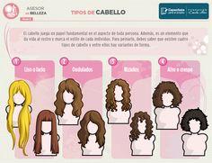 tipos de cabellos