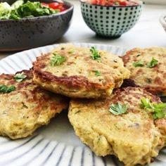 Kikærtebøffer med urter