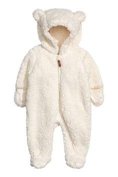 Pile Jumpsuit   Natural white   KIDS   H&M US