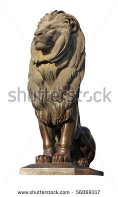 sitting lion sculpture - Google Search