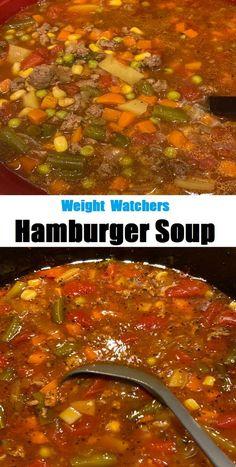 #Hamburger #Soup