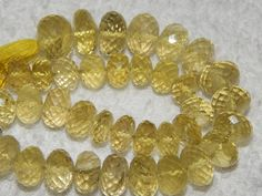 AA 100 Natural Sterling Faceted  Lemon Quarts Very by manzoorgems