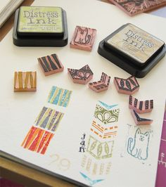 creating stamps