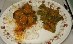 Chachi's Kitchen: Lamb Kebab jo Shaak / Lamb Kofta \ Meatballs in Sp...