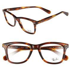 0f1f3817db1 Women s Ray-Ban  Icon - Wayfarer  52mm Optical Glasses (3