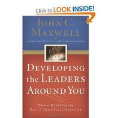 No one succeeds alone. John Maxwell's book will help you develop a strong team of leaders to surround you on a daily basis.