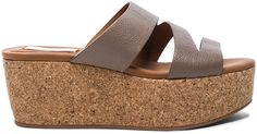 See By Chloe Leather Dania Wedge Sandals