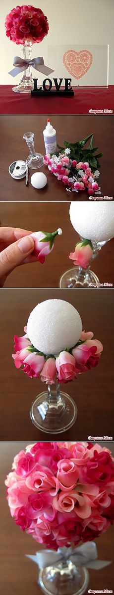 Crafts are so easy to use to make your home decor fresh and unique every season! Valentine Day Floral Bouquet Craft Project – Easy And Crafty Valentines Day Decorations, Valentine Day Crafts, Be My Valentine, Holiday Crafts, Valentinstag Party, Cute Crafts, Diy And Crafts, Diy Y Manualidades, Do It Yourself Inspiration