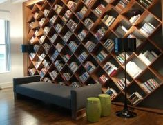 Chris Hacken's answer to Design: What are some of the most unique bookcases? - Quora