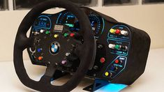 The Spanish Simracingxperience brand revealed its SRX GT Dash for the Fanatec ClubSport Wheel. Sim, Racing, Blue Prints, Running, Auto Racing