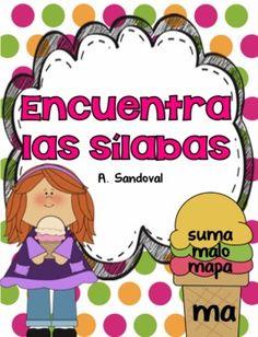 Find the Syllables in Spanish Encuentra las sílabas