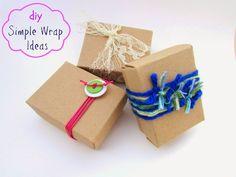 Ef Zin Creations: DIY Simple Gift Wrap Ideas (no 1)
