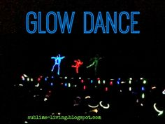 Glow in the Dark theme party- Dance Entertainment SUBLIMEliving