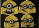 minion party hats:  I need someone to make this for Ryan's party!!! Please!!!!
