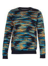 Digital Pattern Knitted Jumper
