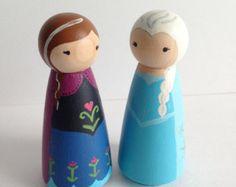 Anna and Elsa, Frozen Princesses