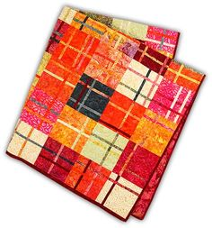 Cranberry Chutney Batik Quilt Kit Easy Quilts, Mini Quilts, Quilting Tips, Quilting Projects, Layer Cake Quilts, Cranberry Chutney, Cross Quilt, Batik Quilts, Quilt Stitching