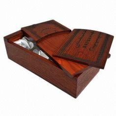 Wooden Gift Box, Made of MDF and Poplar