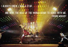 Freddie Mercury was the best…