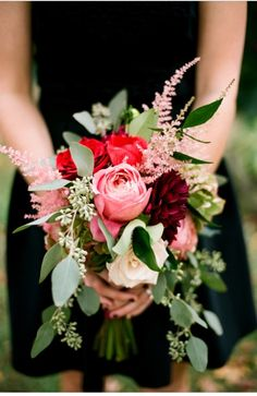 Beautiful red bouquet