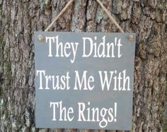 Ring Bearer Signs/ Ringbearer Sign/Flower by CreativeDesignsByBri