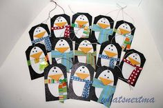 whats next ma: Penguin Christmas Tags