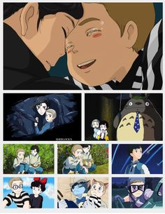 Sherlock and Ghibli I love ALL of this / almost all my faves movies here <3