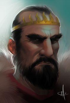King Stannis - Rightful King of Westeros by mattolsonart.deviantart.com on @deviantART